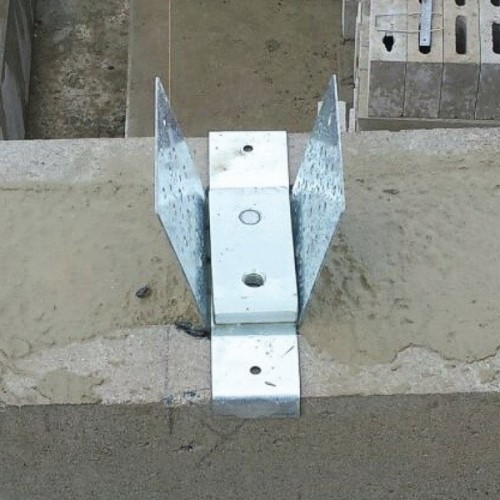 Roof Truss Tie Down Connector To Masonry