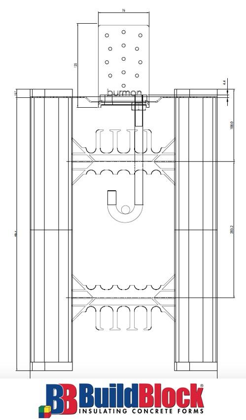 Buildblock icf burmon building products for Buildblock icf pricing